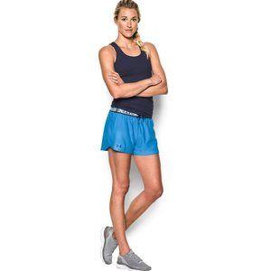 Under Armour Grey & Blue Shorts
